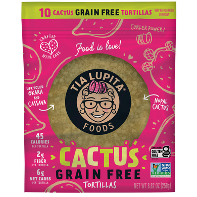 Grain-Free Cactus Tortillas