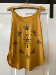 Nothing Obvious Printed Bee Tank