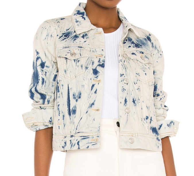 Free People Rumors Denim Jacket OB809197