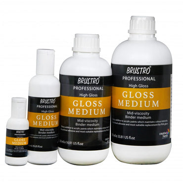 Brustro Artists' High Gloss Medium (OPEN STOCK)