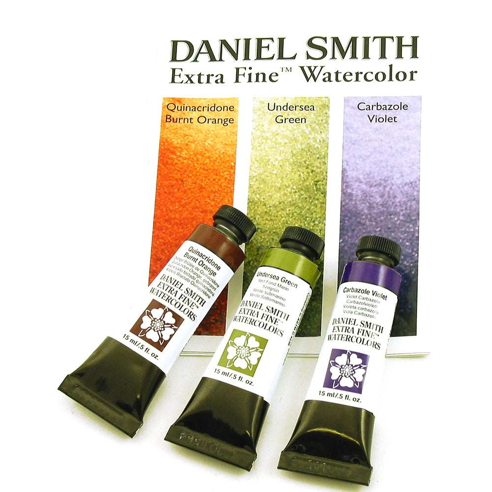 Daniel Smith Extra Fine Watercolor 15ml Paint Tubes, (OPEN STOCK)