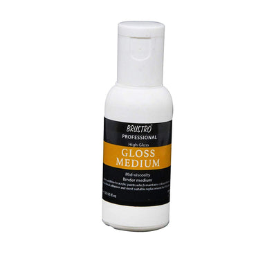 Try It ! Brustro Artists' High Gloss Medium 50 Ml