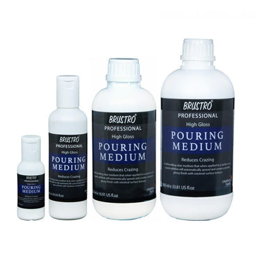 Brustro Pouring Mediums (OPEN STOCK)