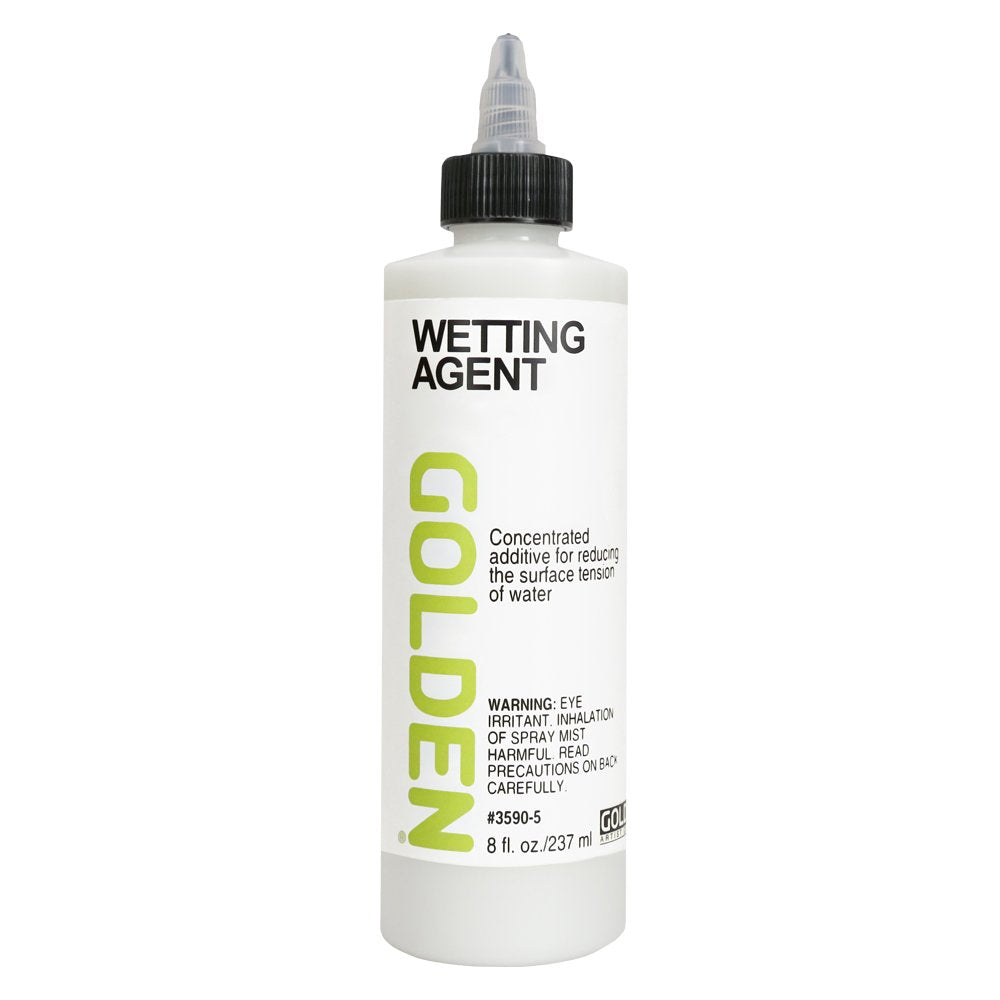 Golden Acrylic Wetting Agent - 8 oz Bottle