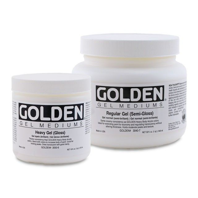Golden Gel Mediums (Open Stock)