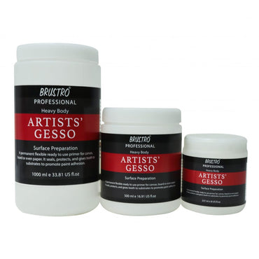 Brustro Artists Gesso Professional Quality (OPEN STOCK)