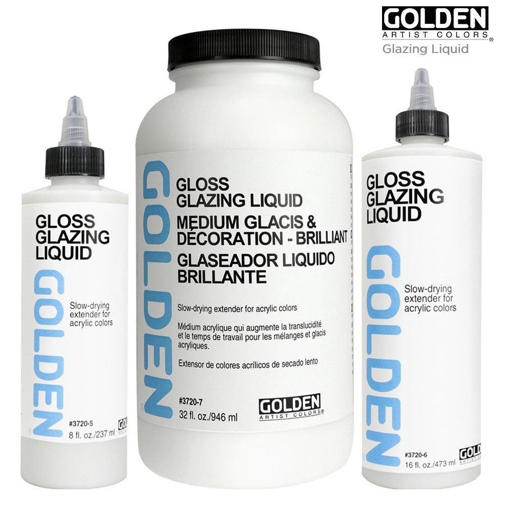 Golden Slow-Drying Medium (OPEN STOCK)