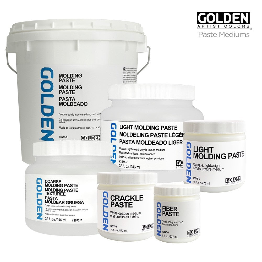 Golden Gel Mediums Molding Paste (OPEN STOCK)