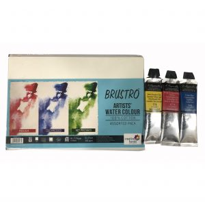 Try It ! Brustro Artists' Watercolor Paper 100% Cotton With Sennelier French Artists' Watercolor