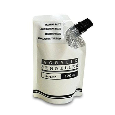 Sennelier Acrylic Light Modeling Paste 120 ml Pouch