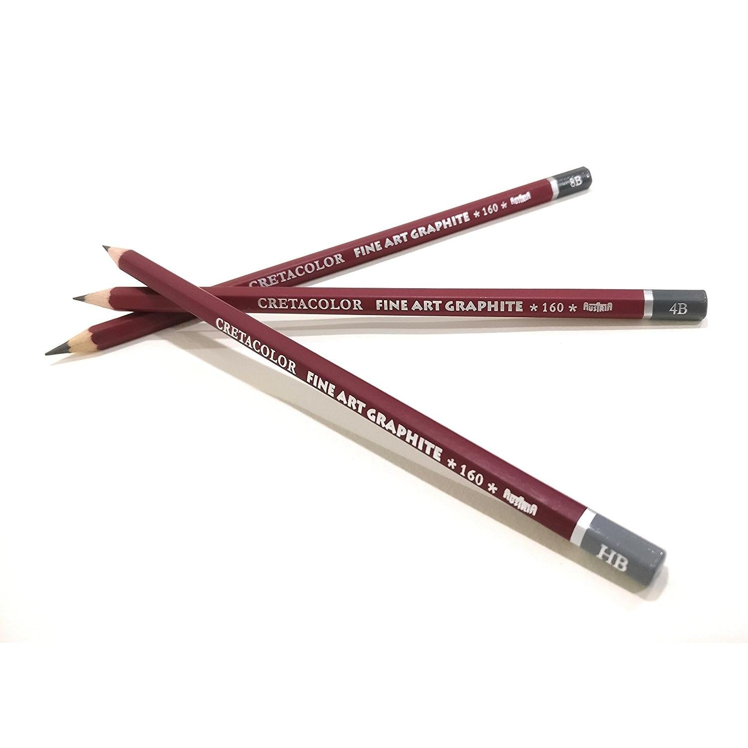 Try It ! Cretacolor Cleos Fine Art Graphite Pencils (HB, 4B & 8B)
