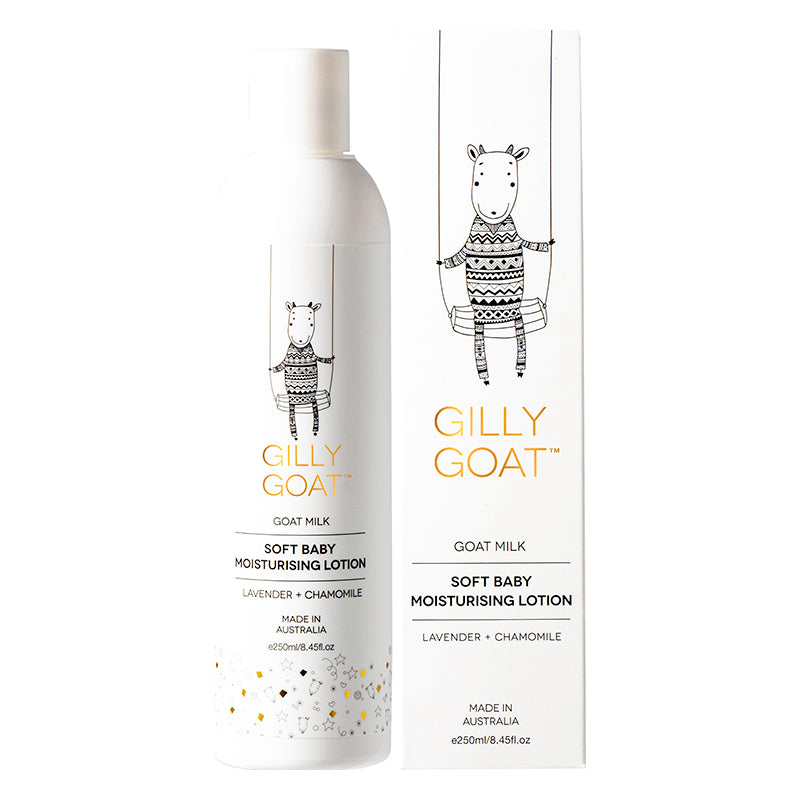 Soft Baby Moisturising lotion - Gilly Goat