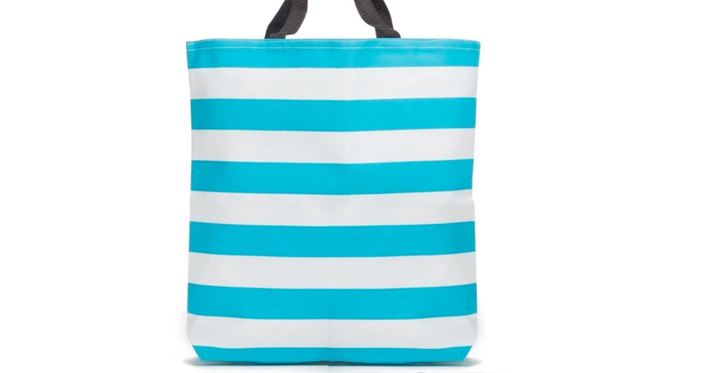ST.TROPEZ Striped Tote Bag