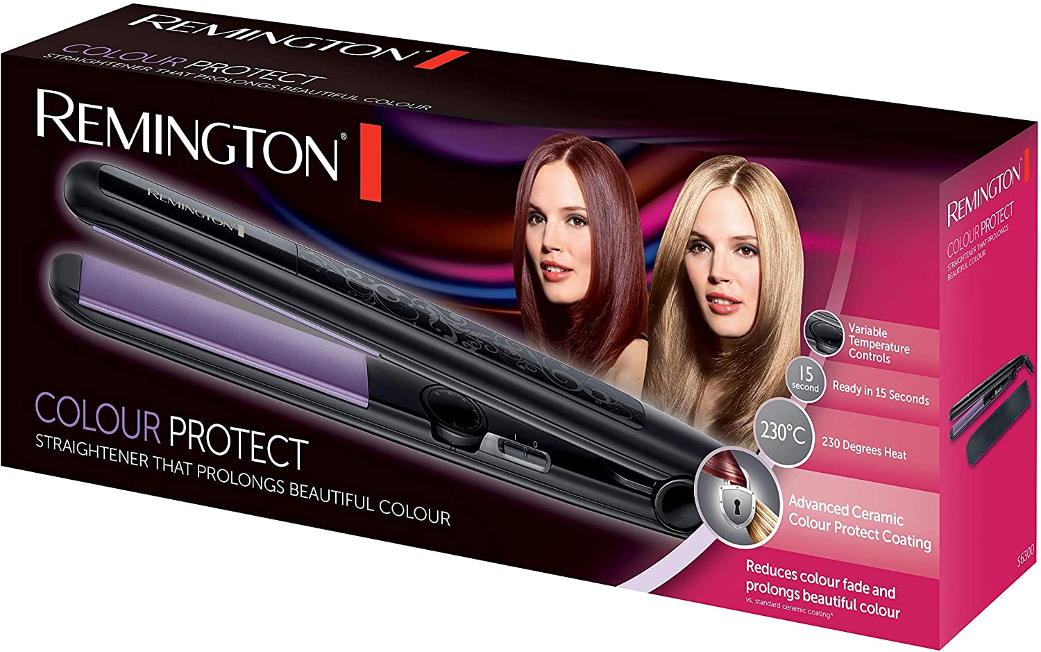 Colour Protect Hair Straightener S6300 | Remington