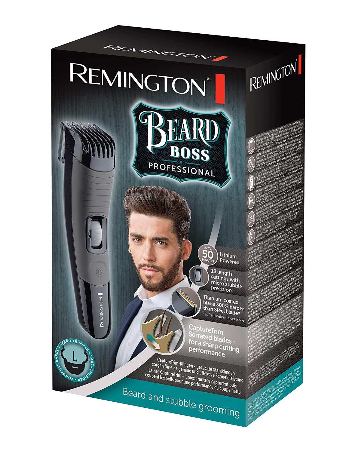 Moustache & Beard Trimmer Professional MB4130 | Remington