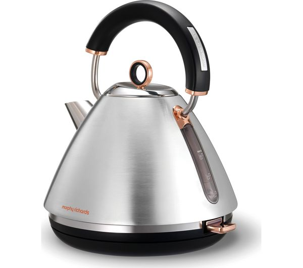 Traditional Kettle Accents Rose Gold and Brushed | Morphy Richards