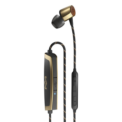 Uplift 2 Wireless Bluetooth EarPhones Brass Close