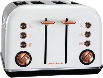 4-Slice Toaster with Removable Crumb Tray