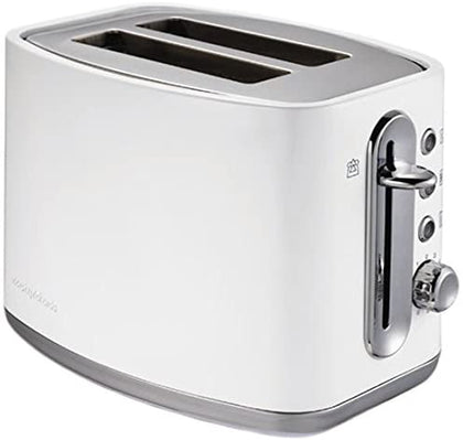 Slice Toaster Elipta White Stainless Steel | Morphy Richards