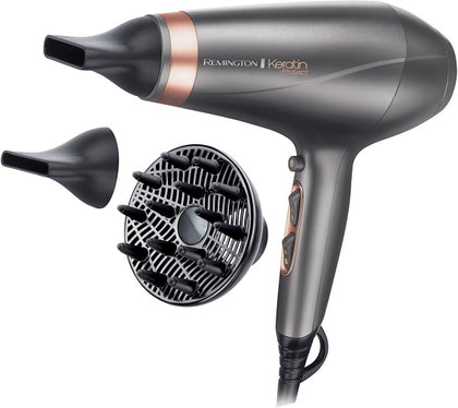 Keratin Protect Hair Dryer 2200W with Attachment