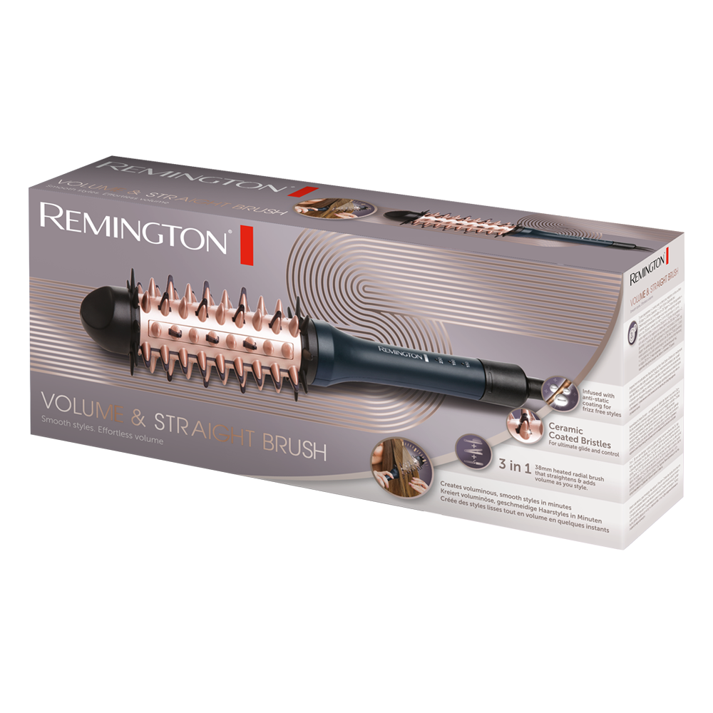 Volume and Straight Electric Brush CB7A138 | Remington