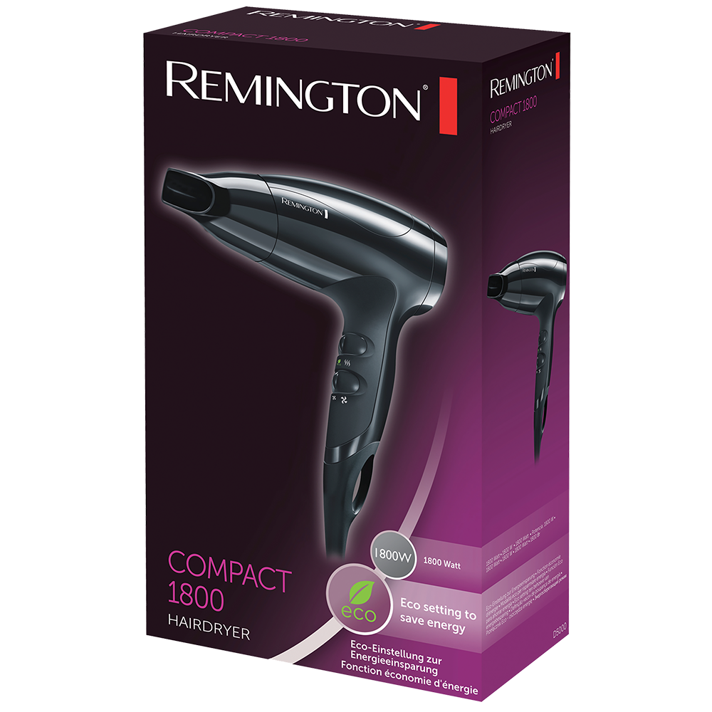 Compact Hair Dryer 1800W D5000 | Remington