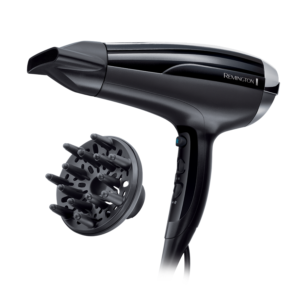 Hair Dryer D5215 and Hair Straightener S1510 Gift Pack | Remington