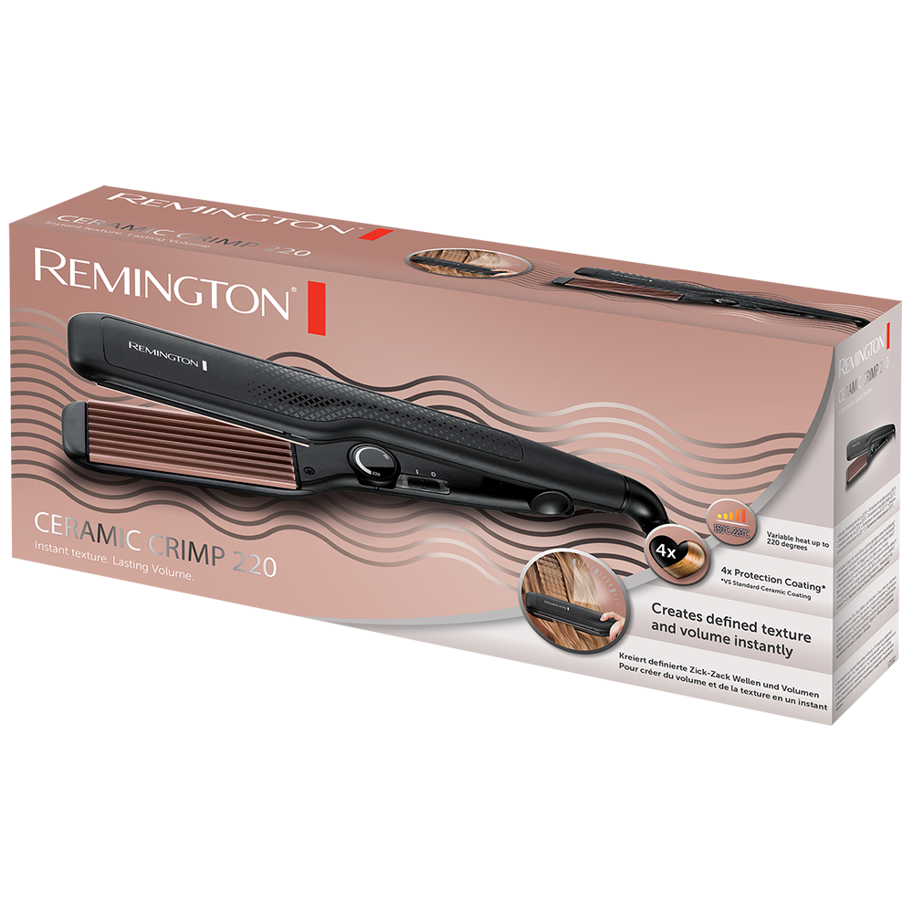 Ceramic Crimp Curling Tong S3580 | Remington