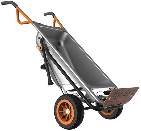 Aerocart 8-in-1 All-Purpose Wheelbarrow/Yard Cart/Dolly | WORX