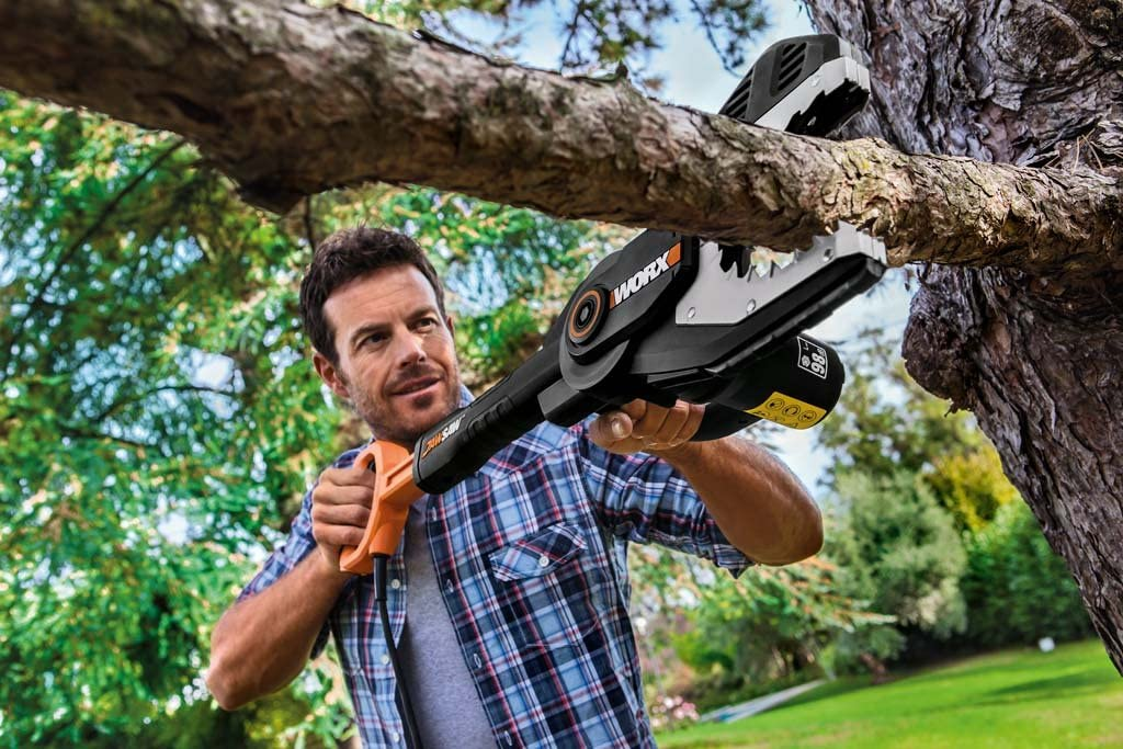 Jawsaw Safety Chainsaw | Worx
