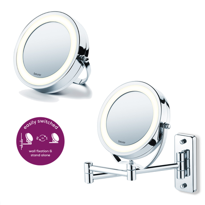 Illuminated Cosmetics Mirror BS59 | Beurer