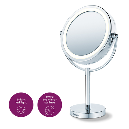 Illuminated Cosmetics Mirror BS69 | Beurer.
