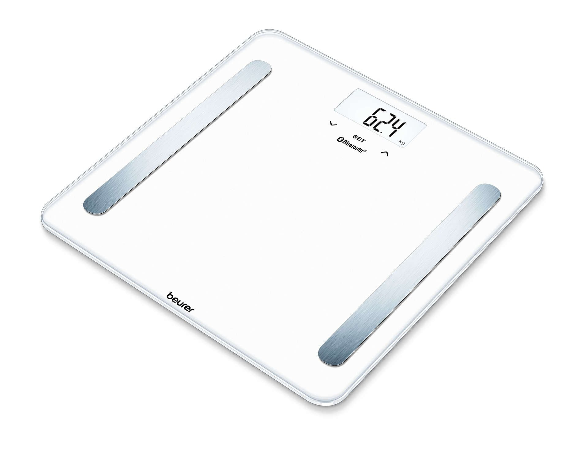 Diagnostic Bathroom Scale BF 600 Pure White | Beurer