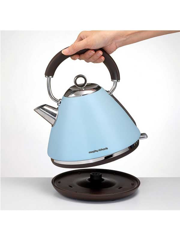 Traditional Water Kettle Special Edition Accents Azure | Morphy Richards