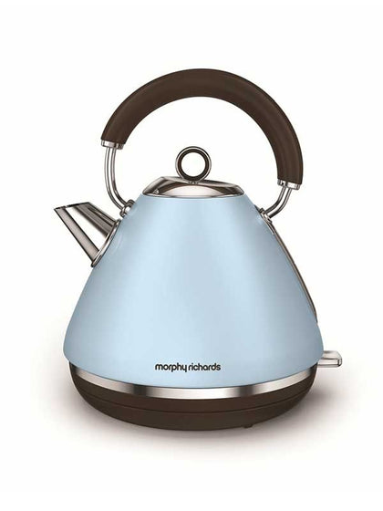 Traditional Water Kettle Special Edition Accents Azure | Morphy Richards.