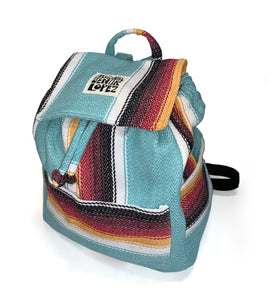 Redondo Teal Backpack