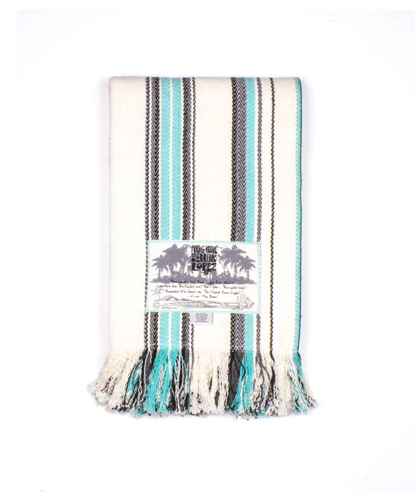 Sarape Natural Grafito Blanket