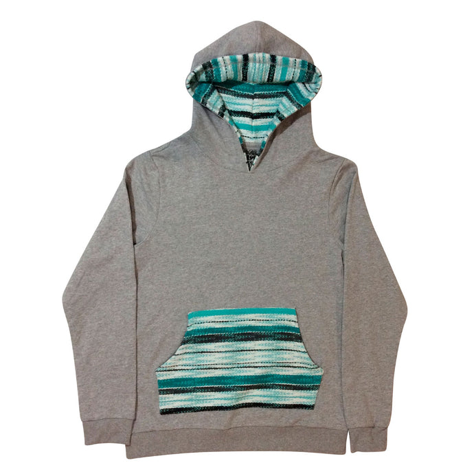 Eco Hoodie - Heather Grey