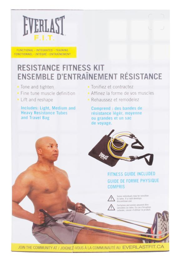 Everlast Resistance Fitness Tube Travel Kit
