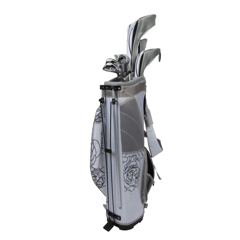 Nancy Lopez Ashley Stand Bag Package Set black/white