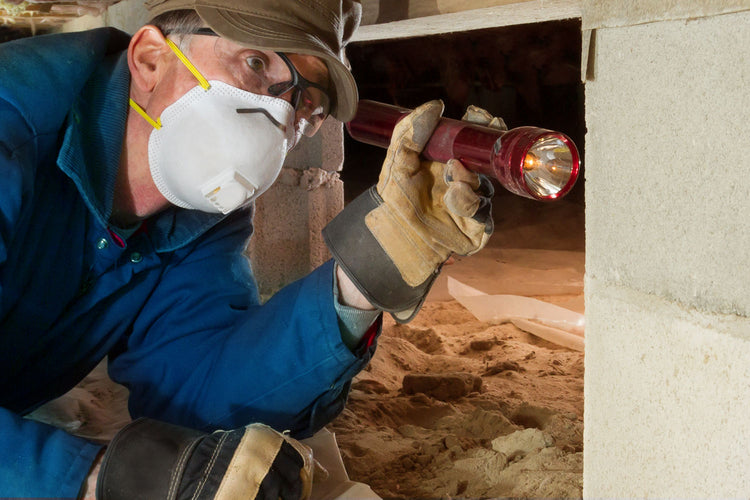 How to Properly Inspect a Crawlspace