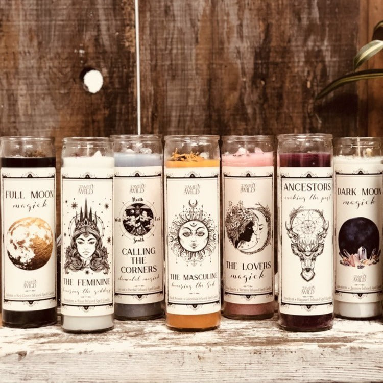Tamed Wild Candles