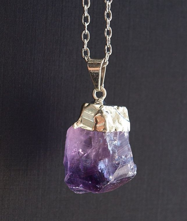 Gold + Amethyst Necklace