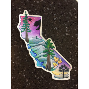 California State Stickers