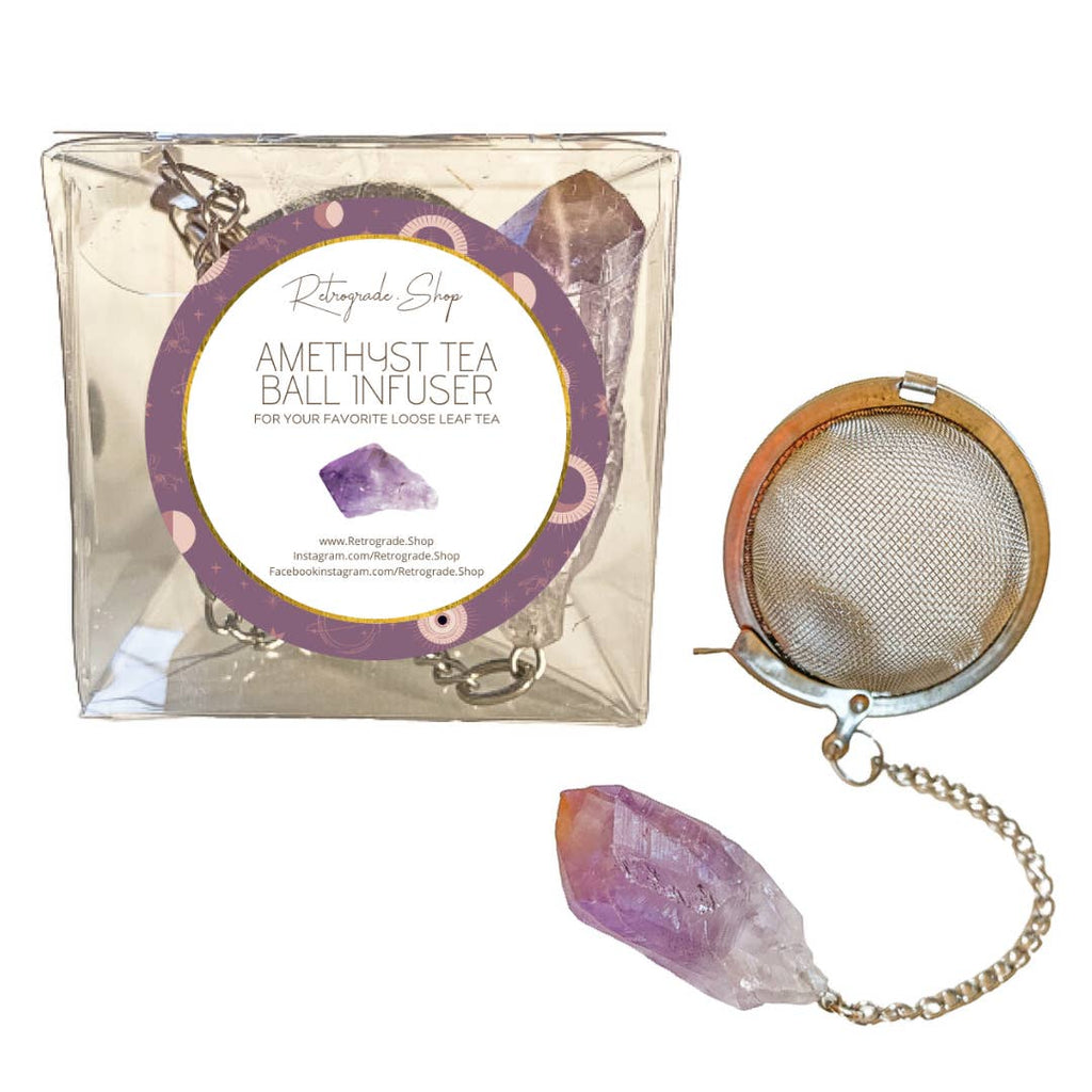 Amethyst Tea Ball