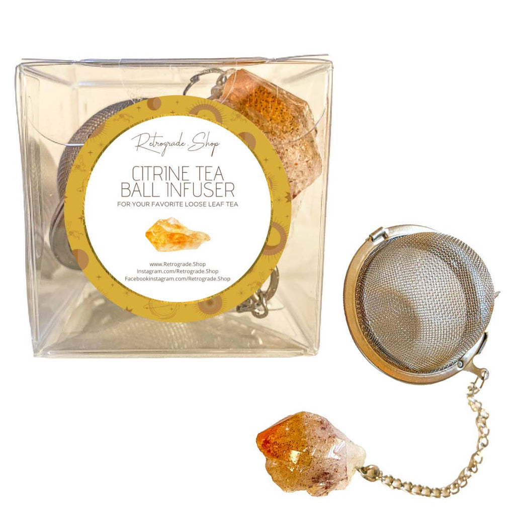Citrine Tea Ball
