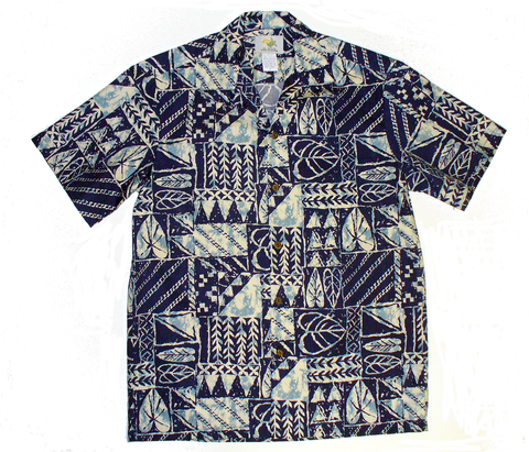 Men's Rock Wall Navy Shirt