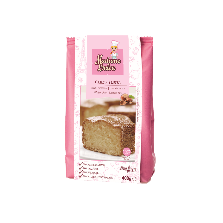 Madame LouLou Hazelnut Cake Baking Mix