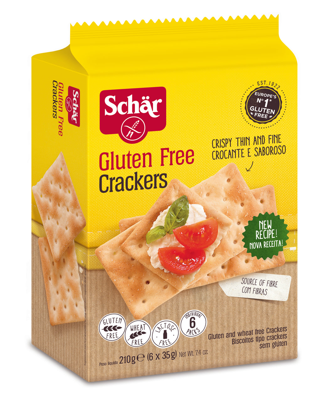 Schar Crackers Large 210g
