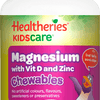 Healtheries Kidscare Magnesium With Vitamin D And Zinc 60 Chewable Tablets